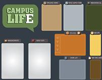 CAMPUS LIFE board