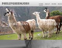 PhillyGreenjobs Re-design