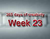 365 days of creativity/art - Week 23