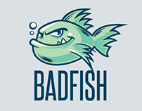 Fish Mascot Vector Logo