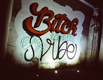 "Mural process ""Bit*h Don't Kill My Vibe"""