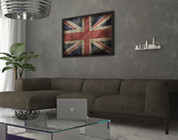Living room - HomeBox decoration