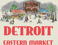 Detroit Eastern Market (poster)