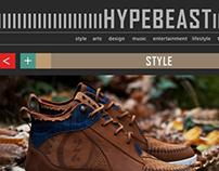 HYPEBEAST Re-design
