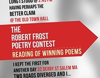 Robert Frost Foundation @ Mass Poetry Festival 2013