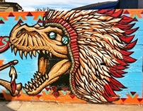 Sawyers Supplies- T-rex wall