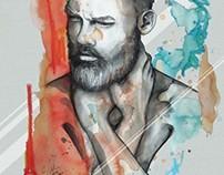 Men Portrait Illustrations by carographic