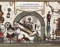 Hendricks Gin Animation