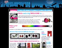 Big City Cufflinks - Website & Brand Identity