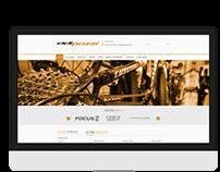 Cicli Pozzi Website Redesign