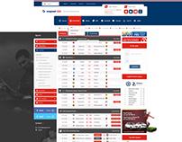 Nugoal Livescore Web Design