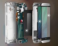 HTC M8 Model and Data prep rigging