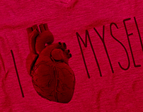 T-Shirt -  Glasses - HEART