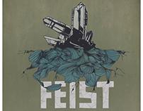 Feist 2012 Tour Poster
