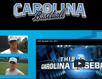 My First Adobe Edge Animate Project - UNC Baseball