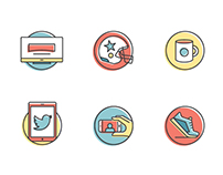 Editorial Icon Set