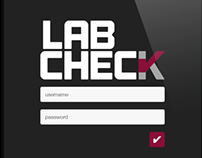 Lab Check App Design