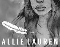 Allie Lauren Concert Poster