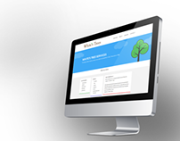 White's Trees Responsive Website Flat Design