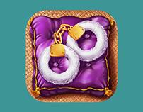Sexy icons for Kamasutra app