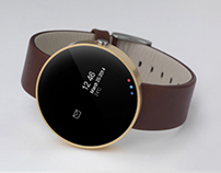 Discrete Wrist Watch - A smart watch concept