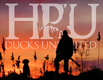 HPU Ducks Unlimited Logo & Branding