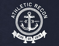 Athletic Recon T-Shirt Graphics