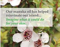 Arapawa Manuka Oil Rebranding - Student Project