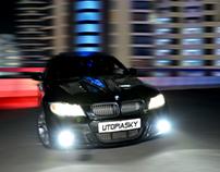 Black BMW 335i