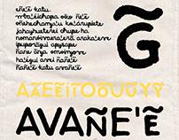 Bocetos de una tipografía para niñas y niños