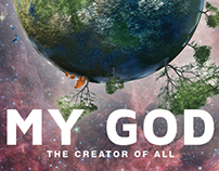 My God - The Creator of All Poster