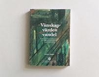 Vänskap, värden, vandel - Book cover & inlay