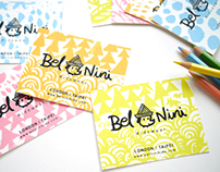 BelNini Kids Logo and Identity