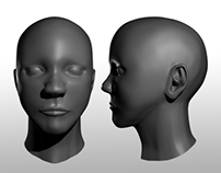 3D Modeling: Human Face