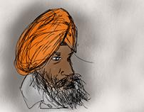 Ipad Sketch experimentation