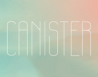 Canister - Typeface Design