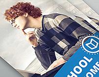 Indesign Brochure Template Business/School