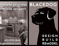 Blackdog Builders B&W Ad