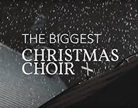 BIGGEST CHRISTMAS CHOIR for CARITAS