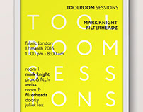 Toolroom Sessions Posters & Tickets