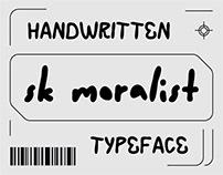 SK Moralist — Free Font
