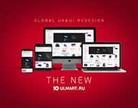 2018 - 2019 Ulmart.ru Global UI & UX Redesign