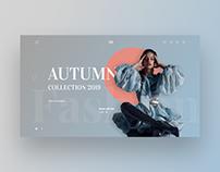 Website of online store