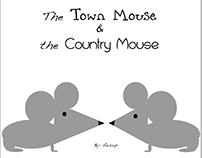 The Town Mouse & The Country Mouse Book