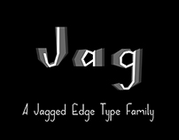 Jagged Typeface Family