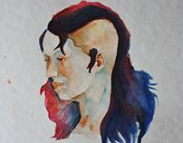 Estudos em aquarela