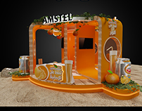 Amstel Activation Booth