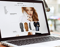 Aryton 2012 / Corporate website and e-shop