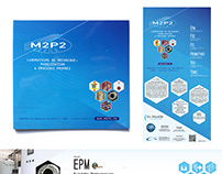 Corporate Identity for laboratory M2P2 - CNRS