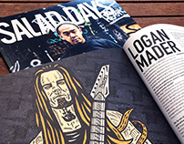LOGAN MADER / Salad Days Mag #36